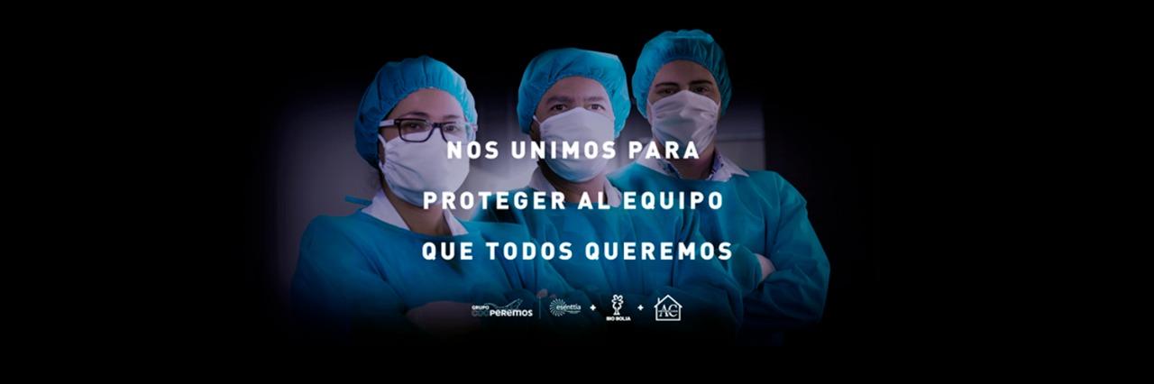 Grupo Ecopetrol, Arturo Calle y Bio Bolsa se unen para producir 147 mil trajes de protección para médicos y demás personal de la salud